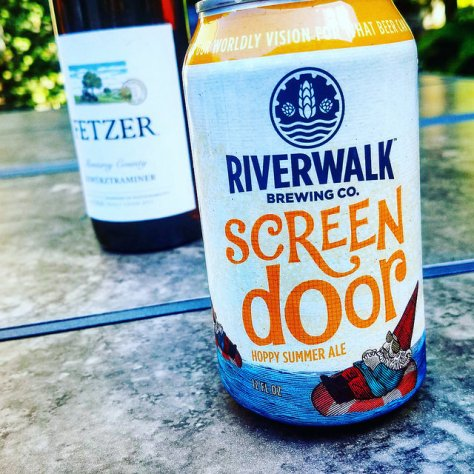 Обзор пива. Riverwalk Screen Door Summer Ale.