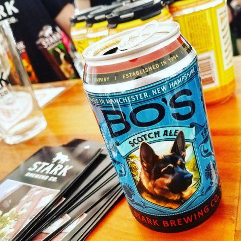 Обзор пива. Stark Milly's Bo's Scotch Ale.