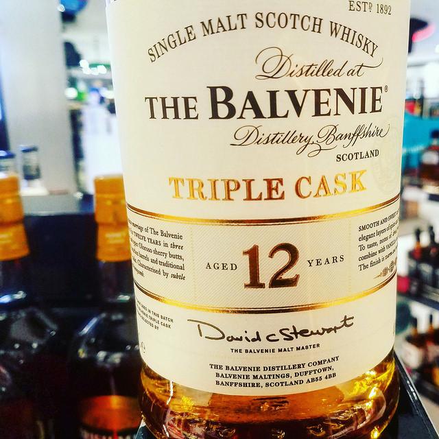 Обзор виски. Balvenie 12 Triple Cask. Отзывы о виски. Балвени.