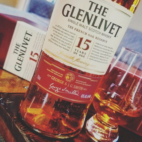 Обзор виски. Glenlivet 15 French Oak Reserve.