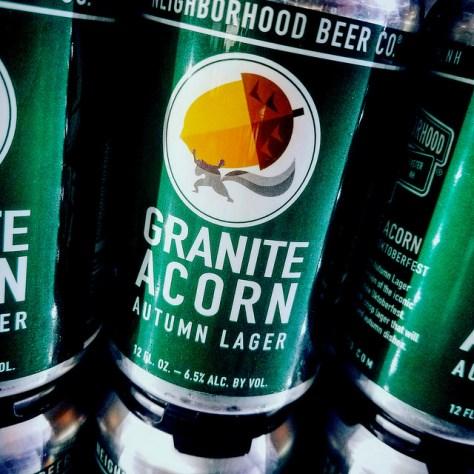 Обзор пива. Neighborhood Granite Acorn Autumn Lager.
