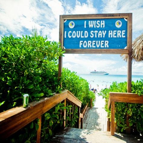 Багамы. [Bahamas.] Half Moon Cay.