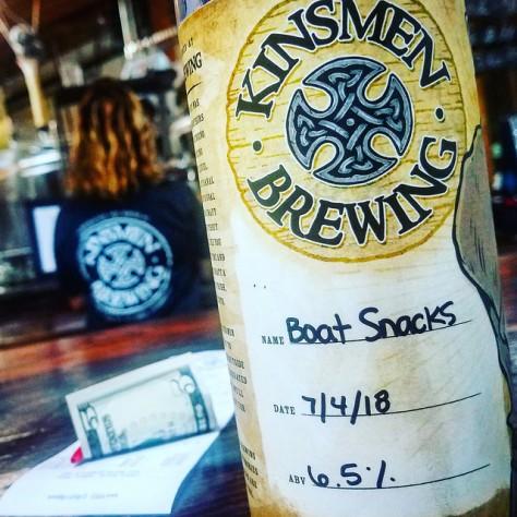 Крафтовая пивоварня. Kinsmen Brewery. Фотоотчёт.