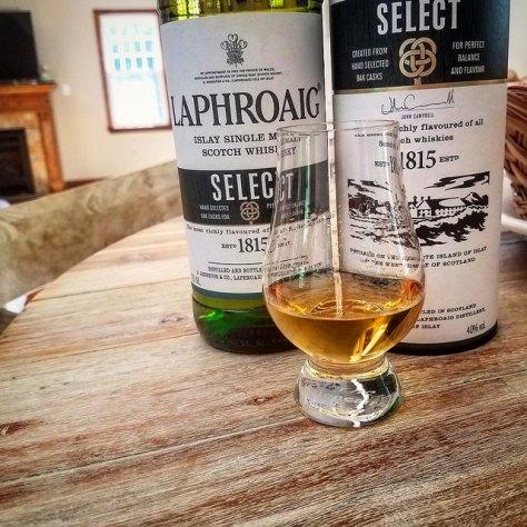 Обзор виски. Laphroaig Select.
