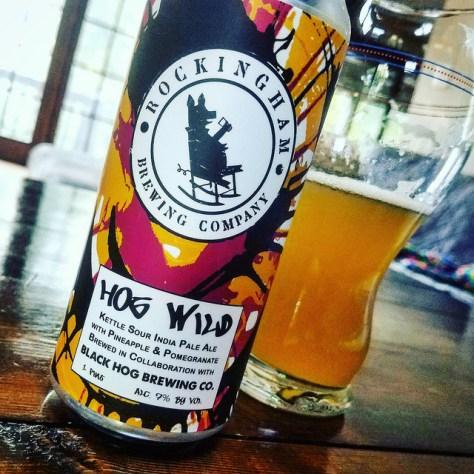 Обзор пива. Rockingham Hog Wild.