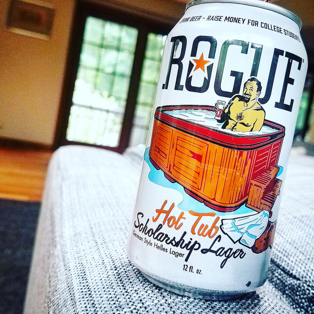 Обзор пива. Rogue Hot Tub Scholarship Lager.