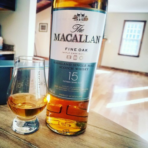 Macallan 15 Fine Oak.
