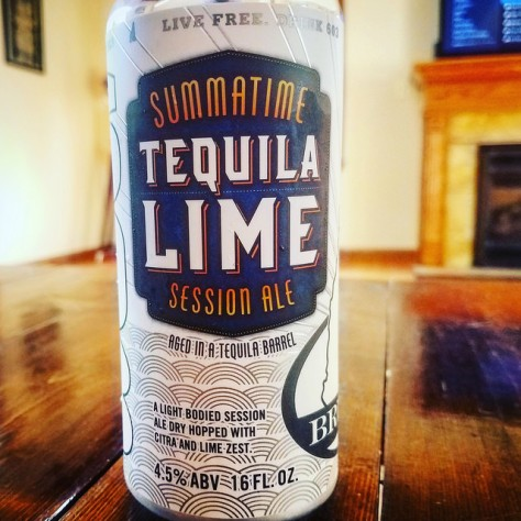 Обзор пива. 603 Summatime Tequila Barrel Aged With Limes.