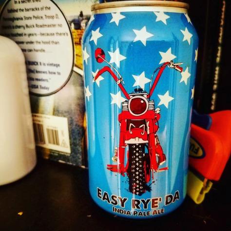 Обзор пива. Black Hog Easy Rye'Da.