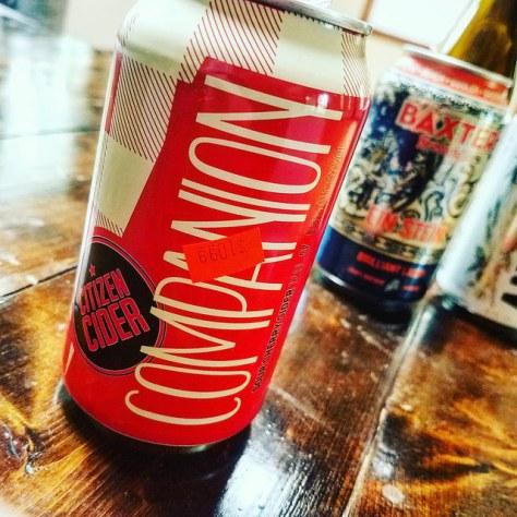 Обзор крепкого сидра. Citizen Cider Companion.