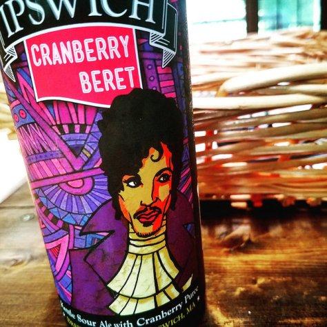 Обзор пива. Ipswich Ale Cranberry Beret.