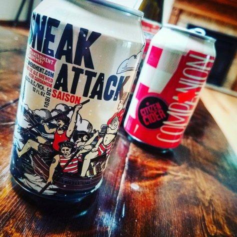 Обзор пива. 21st Amendment Sneak Attack Saison.