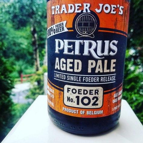 Обзор пива. Bavik Petrus Aged Pale Ale Foeder No. 102.
