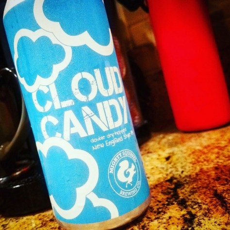 Обзор пива. Mighty Squirrel Cloud Candy IPA.