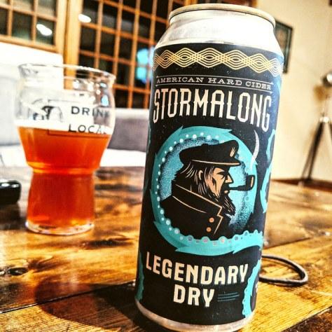 Обзор крепкого сидра. Stormalong Legendary Dry.