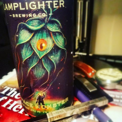 Обзор пива. Lamplighter Space Monster.