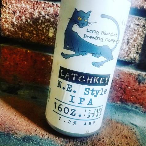 Обзор пива. Long Blue Cat Latchkey IPA.