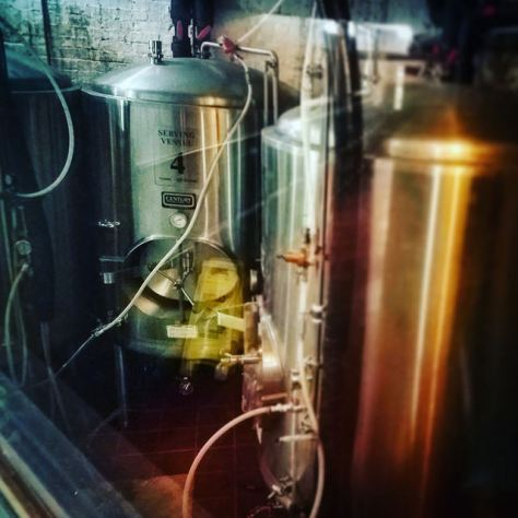 Крафтовая пивоварня. The Tap Brewery. Фотоотчёт.