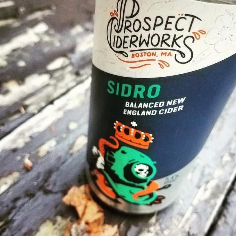 Обзор крепкого сидра. Prospect Sidro.