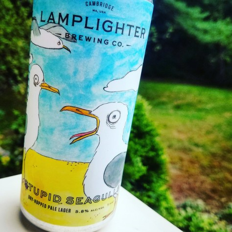 Обзор пива. Lamplighter Brewing Stupid Seagulls.