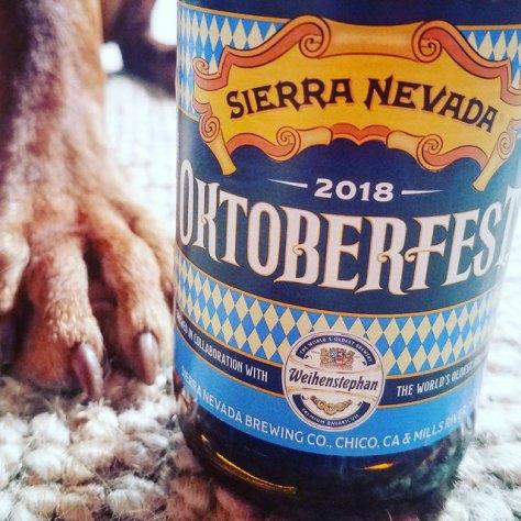 Обзор пива. Sierra Nevada Oktoberfest 2018. [Weihenstephan Collaboration].