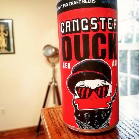 Обзор пива. Radiant Pig Gangster Duck.