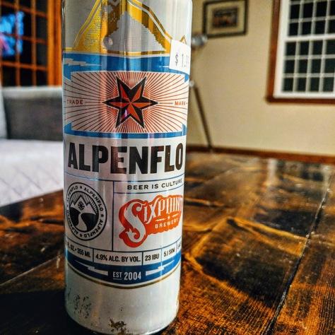 Обзор пива. Sixpoint Alpenflo.