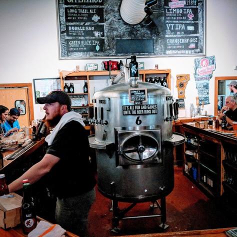 Крафтовая пивоварня. Long Trail Brewery.