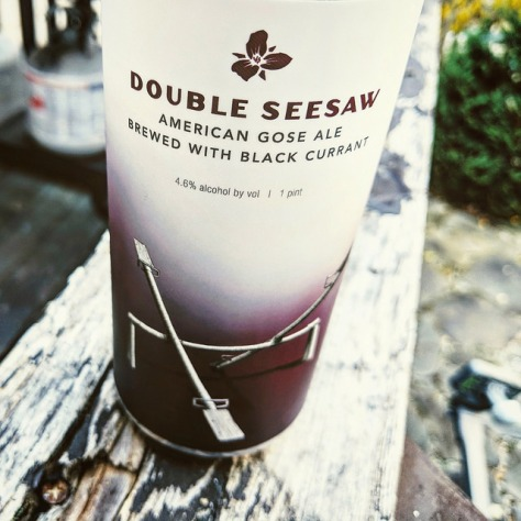 Обзор пива. Trillium Double Seesaw: Black Currant.