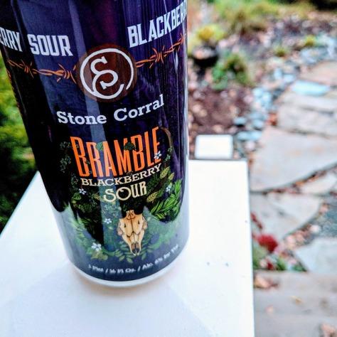 Обзор пива. Stone Corral Bramble Blackberry Sour.