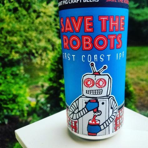 Обзор пива. Radiant Pig Save The Robots.
