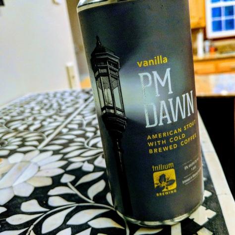 Обзор пива. Trillium Vanilla PM Dawn.