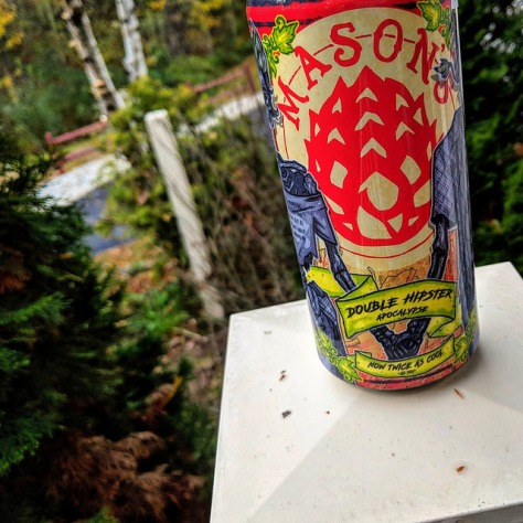 Обзор пива. Mason's Double Hipster Apocalypse.
