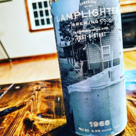 Обзор пива. Lamplighter 1968.