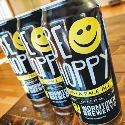 Обзор пива. Wormtown Be Hoppy.