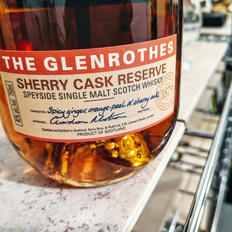 Обзор виски. Glenrothes Sherry Cask Reserve.