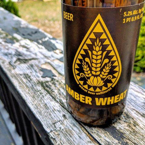 Обзор пива. Browar Amber Pszeniczniak [Amber Wheat].