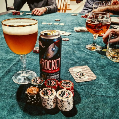 Обзор пива. Wormtown Rocket.