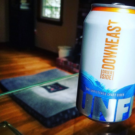 Обзор крепкого сидра. Downeast Cider Drier Side.