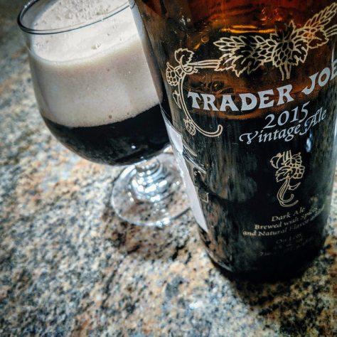 Временная капсула. Unibroue Trader Joe's Vintage Ale. 2015-2018. Проба #3.