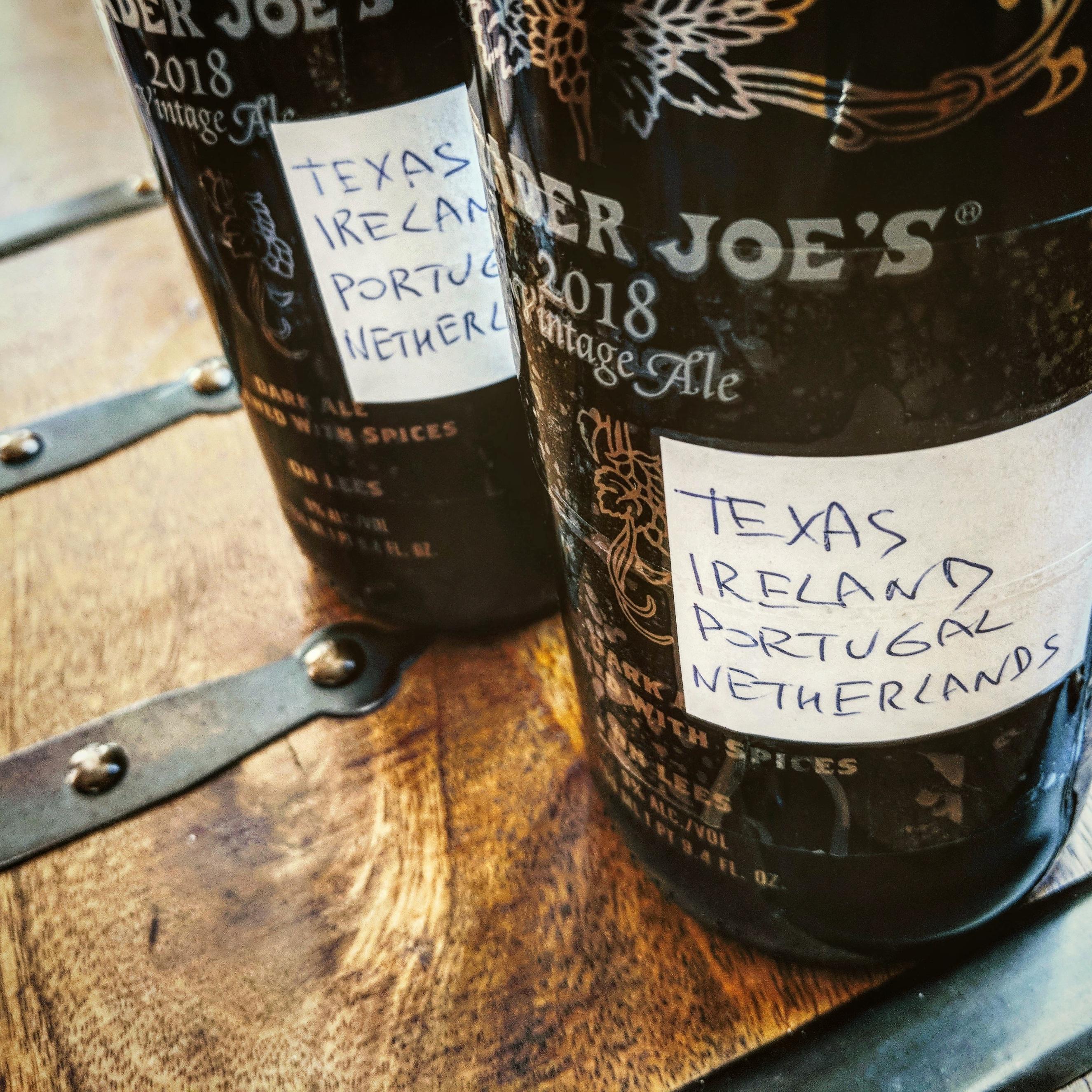 Временная капсула. Unibroue Trader Joe's Vintage Ale.