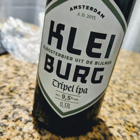 Обзор пива. Kleiburg Tripel IPA.