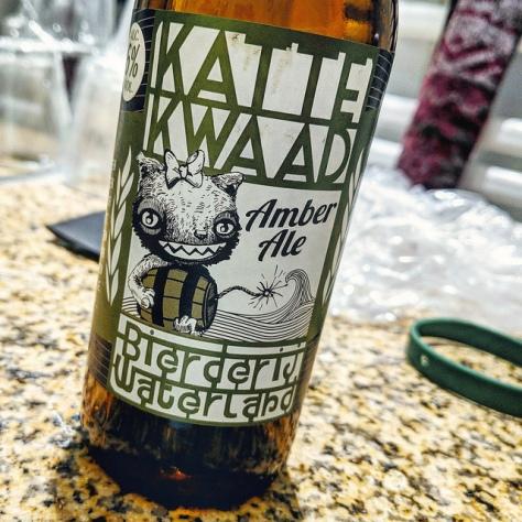 Обзор пива. Bierderij Waterland Katte Kwaad.
