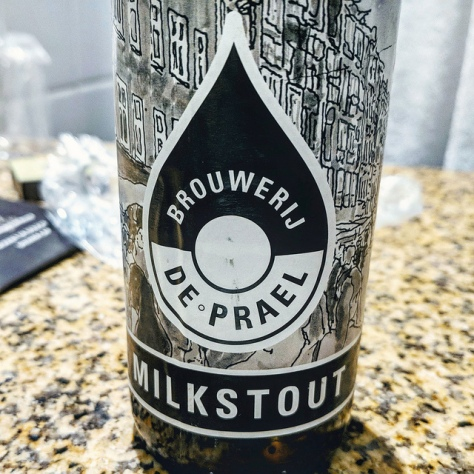 Обзор пива. De Prael Milkstout.