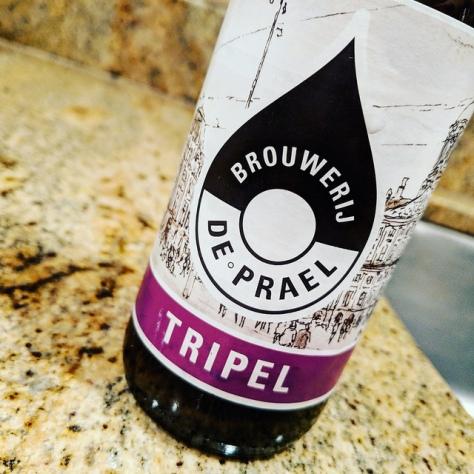 Обзор пива. De Prael Tripel.