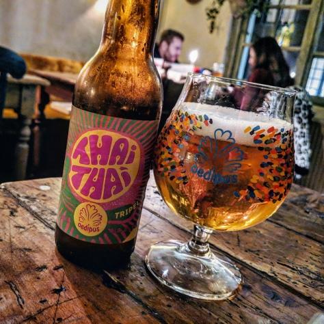 Обзор пива. Oedipus Thai Thai Tripel.