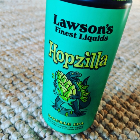 Обзор пива. Lawson's Finest Liquids Hopzilla.