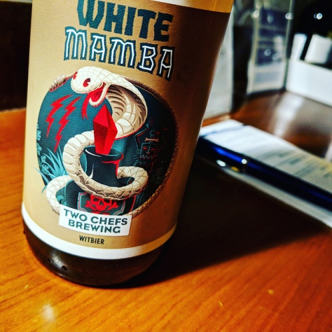 Обзор пива. Two Chefs White Mamba.