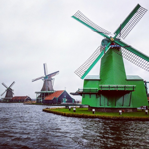 Зансе-Сханс. Нидерланды. [Zaanse Schans. Netherlands.]
