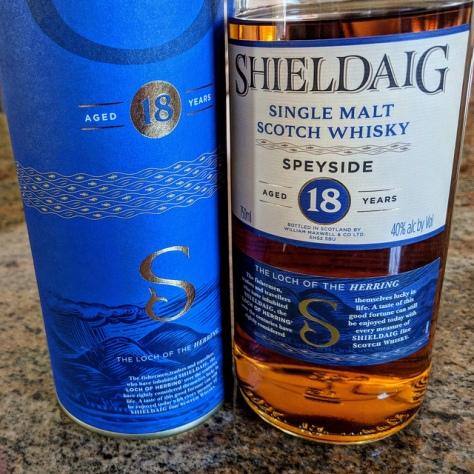 Обзор виски. Ian Macleod Shieldaig 18.